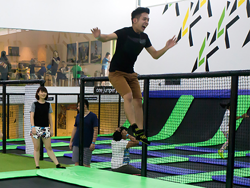 whilejumping